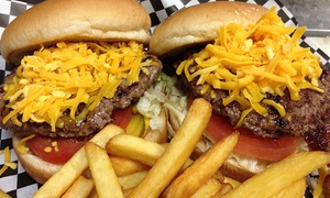 Harry Bear's: Burger Combo Meal for Two or Two Groupons, Each Good for $10 Worth of American Food at Harry Bear's