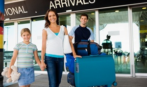 ValUtours: One-Way or Round-Trip Airport Transportation from Valutours(Up to 45% Off)