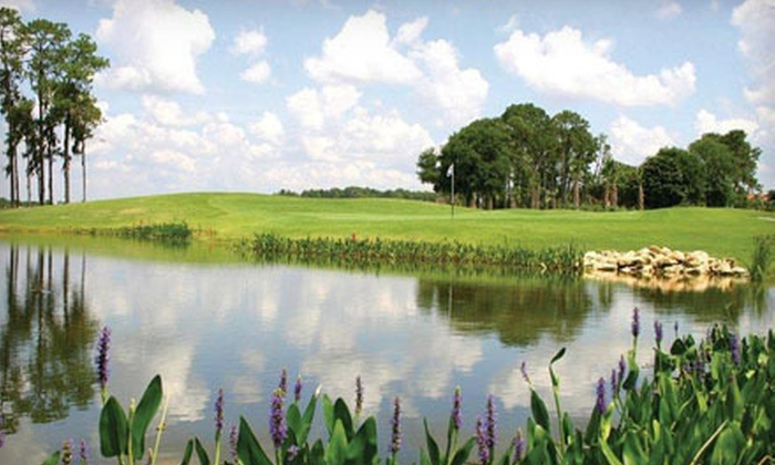 Crane's Bend at Orange Lake Resort - Kissimmee: One-Day Unlimited Golf Package for One or Two at Crane's Bend at Orange Lake Resort in Kissimmee (Up to 73% Off)