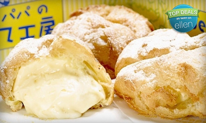 Beard Papa Sweet Cafe - Hollywood and Highland Shopping Center - Hollywood: $9 for $18 Worth of Cream Puffs and Treats at Beard Papa Sweet Cafe - Hollywood and Highland Shopping Center