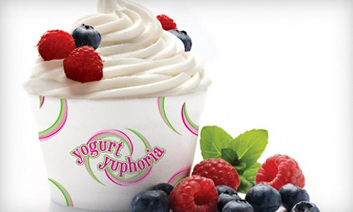 Yogurt Yuphoria - Greenwood Village: $10 for $20 Worth of Frozen Treats at Yogurt Yuphoria in Greenwood Village