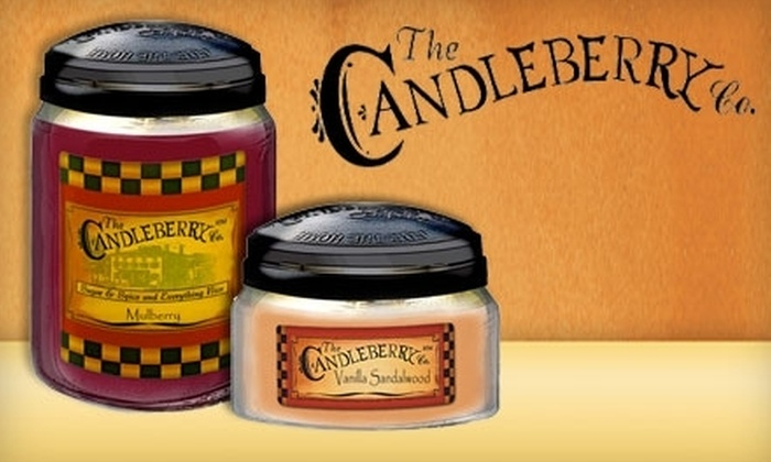 The Candleberry Co. - Houston: $15 for $30 Worth of Candles and Gifts at The Candleberry Company