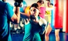 AMERIKICK *Natl Acct* - Multiple Locations: Fitness Package with 10 or 20 Cardio-Kickboxing Classes and Optional Boxing Gloves at Amerikick (Up to 90% Off)