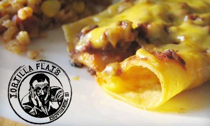 Tortilla Flats - Mt. Hope: $15 for $30 Worth of Eclectic Southwestern Fare and Drinks at Tortilla Flats