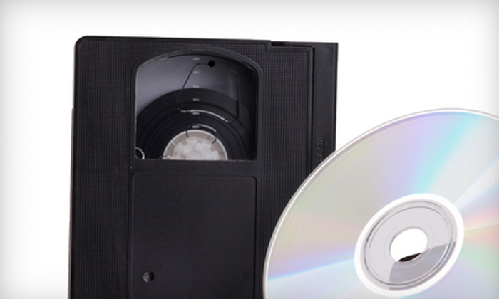 Chicago Producers - Tri-Taylor: Four VHS-to-DVD Conversions or a Complete Photograph Restoration at Chicago Producers