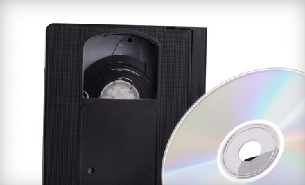 4 VHS-to-DVD Conversions (a $98 value) - Chicago Producers in Chicago