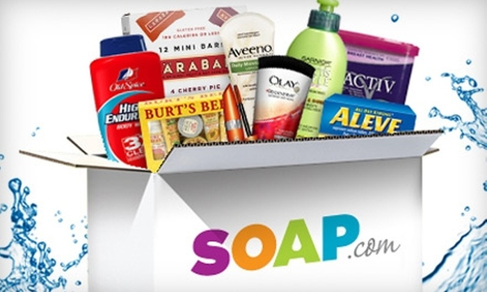 Soap.com: $10 for $20 Worth of Health and Beauty Essentials from Soap.com