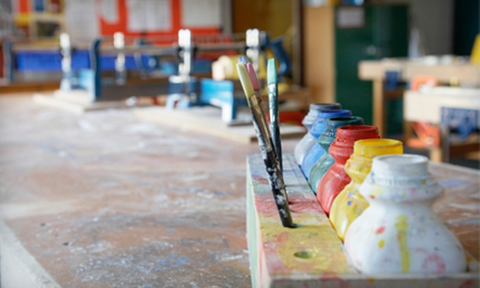 ETTA Art Studio - Amherst Center: 3, 5, or 10 Adult and Children's Art Classes or 3 Jewelry-Making Classes at ETTA Art Studio