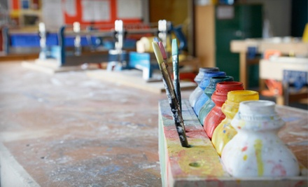 Punch Card for Three Art Classes (up to a $90 value) - ETTA Art Studio in Amherst