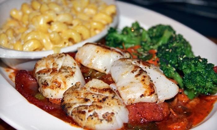 Nicas 320 - Crossroads: American Fusion Dinner with Appetizer and Drinks for Two or Four at Nicas 320 (Up to 53% Off)
