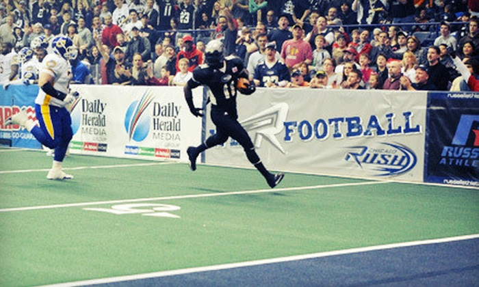Chicago Rush - Allstate Arena: Chicago Rush Arena Football Game for Two at Allstate Arena in Rosemont (Up to 64% Off). Four Options Available.