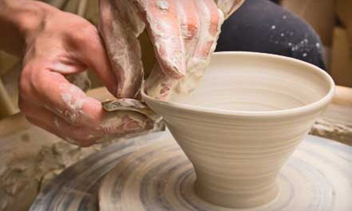 """T Pots Pottery - Truckee: $17 for a 90-Minute """"Try It!"""" Pottery Workshop at T Pots Pottery in Truckee ($35 Value)"""