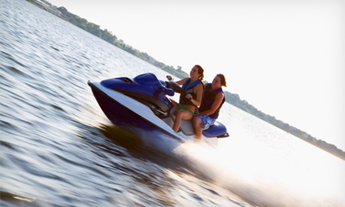 American Watersports Inc - Pompano Beach: $45 for a 30-Minute Jet-Ski Rental with Cabana from American Watersports Inc in Pompano Beach (Up to $114 Value)