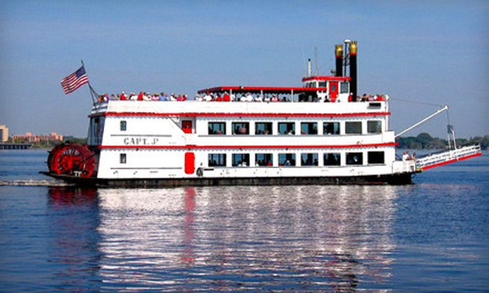 J.C. Cruises - Downtown Historic District: $20 for a Holiday-Party Cruise for Two on Saturday, December 17, at 9 p.m. from J.C. Cruises ($42.40 Value)