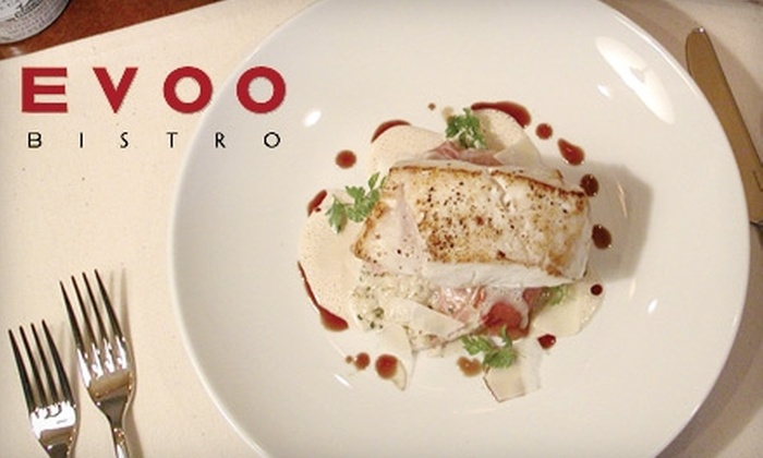 EVOO Bistro - North Naples: $25 for $50 Worth of French-American Dinner Cuisine at EVOO Bistro (or $10 for $20 Toward Lunch)