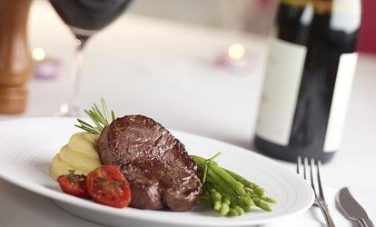 image for Two-Course Steak Dinner with Wine for Up to Four at Mini's Wine Bar and Eatery