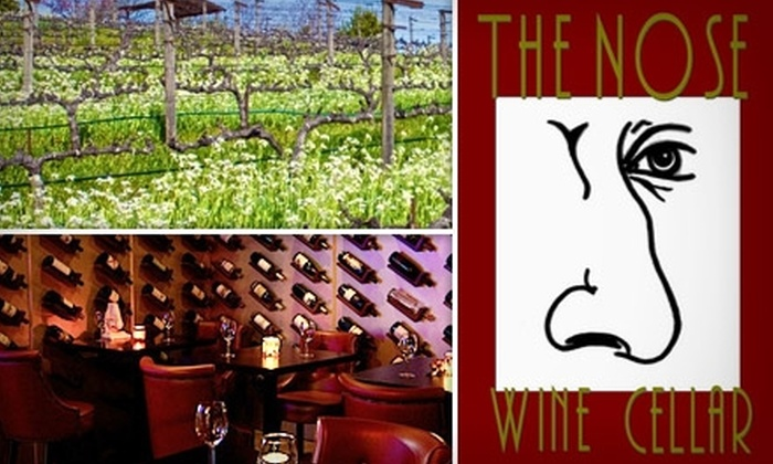 The Nose Wine Bar - Pasadena: $20 for $40 Worth of Fabulous Wines and Tasty Treats at The Nose Wine Bar