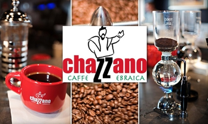 Chazzano Coffee Roasters and Cafe - Ferndale: $10 for $20 Worth of Espresso, French Press, and More from Chazzano Coffee Roasters and Cafe