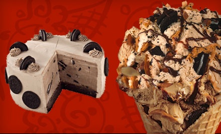 $10 Groupon to Cold Stone Creamery - Cold Stone Creamery in Newark