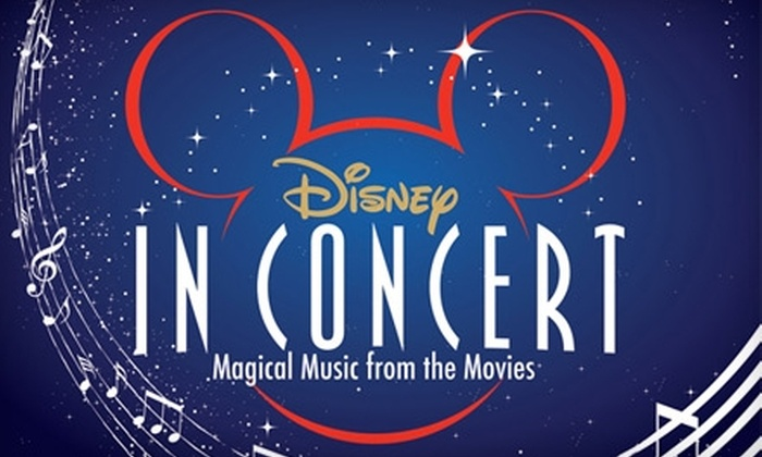 "Toledo Symphony - Multiple Locations: $20 for Ticket to ""The Magical Music of Disney"" Concert by the Toledo Symphony on January 29 ($45 Value)"