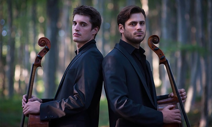 2cellos - E.J. Thomas Hall, The University of Akron: 2cellos at E.J. Thomas Hall – The University of Akron on Tuesday, February 24 (Up to 41% Off)
