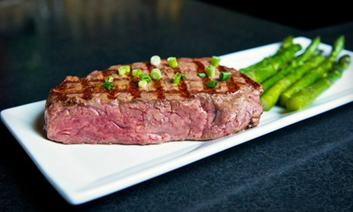 Diamonds Steak and Seafood - Howell: Steak or Seafood Dinner for Two or Steakhouse Fare at Diamonds Steak and Seafood in Howell