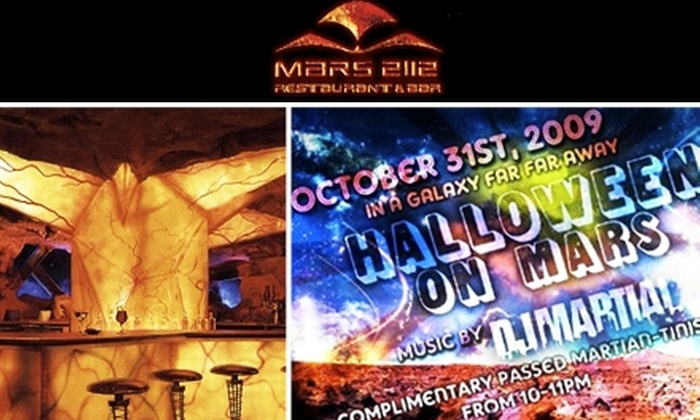 Mars 2112 - Theater District - Times Square: $17 for Ticket to Halloween on Mars ($34 Value)