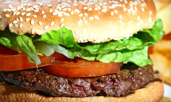 YumBurgers Grill - Rockville: $10 for $20 Worth of Burgers, Fries, and Veggie Wraps at YumBurgers Grill in Rockville