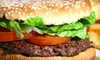 OOB-YumBurgers Grill - Rockville: $10 for $20 Worth of Burgers, Fries, and Veggie Wraps at YumBurgers Grill in Rockville