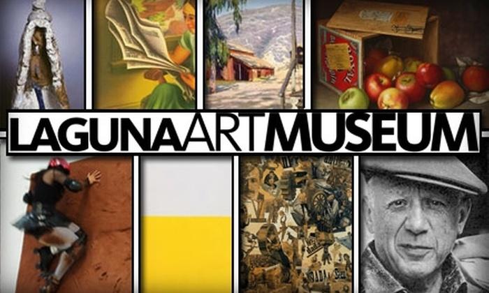 Laguna Art Museum - Laguna Beach: Membership or Day Pass to the Laguna Art Museum. Three Options Available.