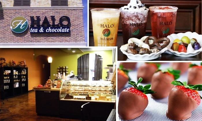 Halo Tea Lounge & Chocolate Bar - Frisco: $10 for $25 Worth of Goodies at HALO Tea Lounge & Chocolate Bar