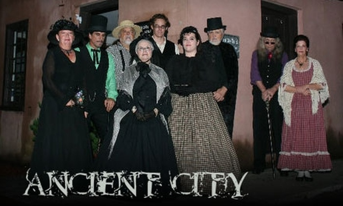 Ancient City Tours - Old City: Ghostly Encounter Walking Tour or Paranormal Investigation from Ancient City Tours (Up to $45 Value). Choose from Two Options.