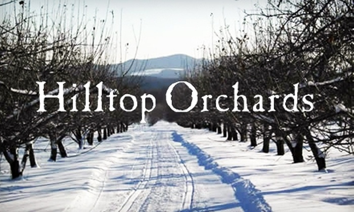 Hilltop Orchards - Hancock: $6 for a Snow Trail Pass (Up to a $12 Value) or $15 for a Snow Trail Pass with Snowshoe Rental (Up to a $31 Value) at Hilltop Orchards in Richmond