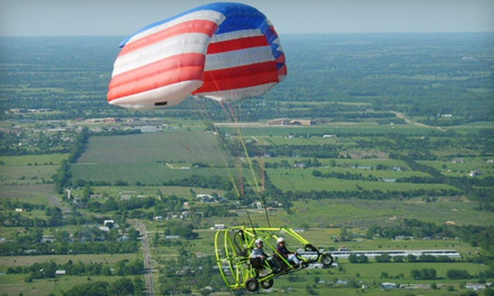 Future Flight, LLC - Princeton: One, Two, or Four Powered-Parachute-Craft Rides over Lake Lavon from Future Flight, LLC in Princeton (Up to 60% Off)