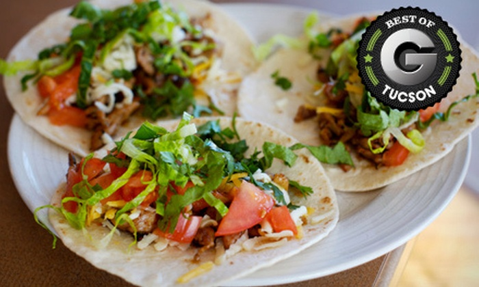 El Minuto Cafe - Barrio Viejo: Mexican Fare at El Minuto Cafe (Up to 53% Off). Two Options Available.