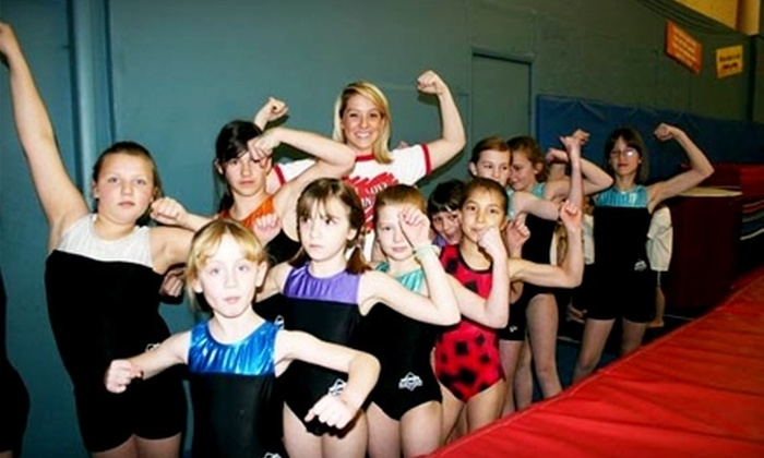 Wings Center - Boise: Children's Cheerleading or Gymnastics Classes at Wings Center. Four Options Available.