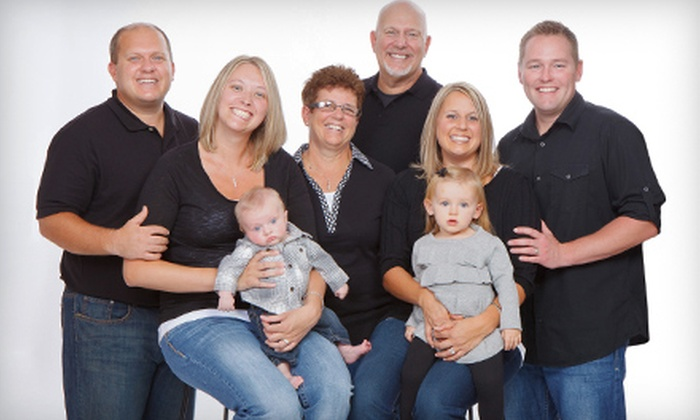 Jamie Jansen Photography - Canton: $45 for a Holiday or General Photo Shoot with CD or Prints at Jamie Jansen Photography in Canton (Up to $275 Value)