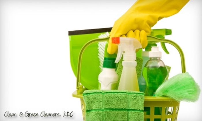 Clean & Green Cleaners, LLC - Middlefield: $49 for Up to Two Hours of Green Cleaning from Clean & Green Cleaners, LLC ($100 Value)