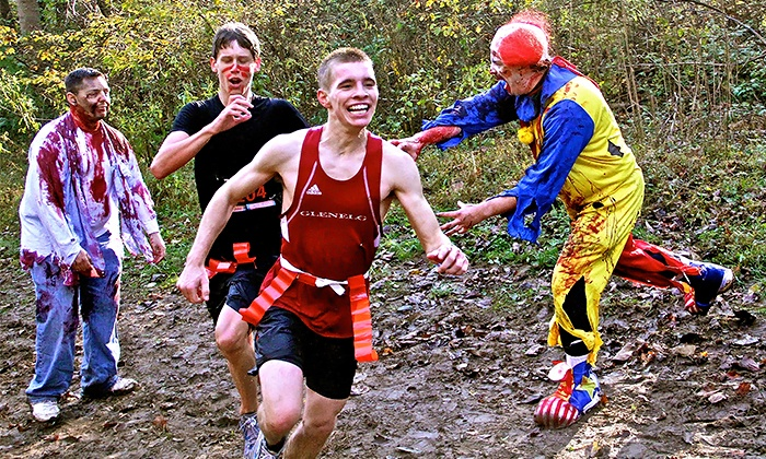 Wet Coast Events - Campbell Valley Park trail: Entry for One or Two to the Zombie Fun Run 10k Race on Sunday, May 31 from Wet Coast Events (Up to 53% Off)