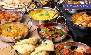Taste of India: Indian Cuisine at Taste of India (Up to 50% Off)
