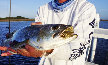 Four- or Six-Hour Inshore Fishing Charter for Four at Goin' Coastal Charters (Up to 46% Off)