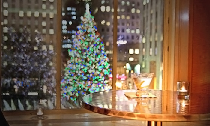 Your VIP Pass - Midtown Center: NYC Tree Lighting Ceremony Gala at 45 Rockefeller Center for One or Two from Your VIP Pass (Up to 50% Off)