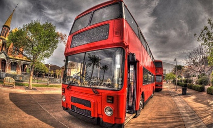 Real London Bus Company - Multiple Locations: Pub Crawl, Treasure Hunt, or Night Hunt Double-Decker Tour for One or Two from Real London Bus Company (Up to 53% Off)