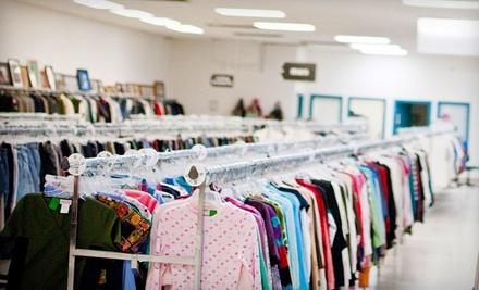 $15 Groupon - Neighborhood Thrift in Fresno