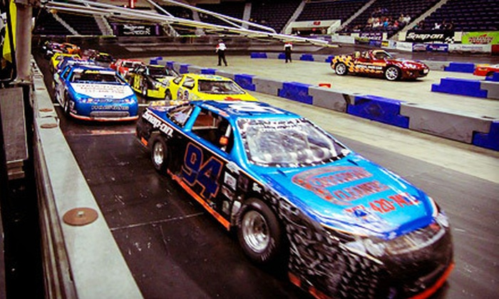 Arena Racing USA - City Center: Arena Racing USA Event for Two or Five at Richmond Coliseum (Up to 67% Off)