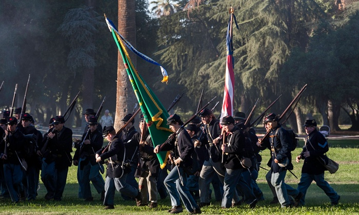 Fresno Historical Society - Kearney Park: $12 for Admission to the Civil War Revisited Event for Two at Fresno Historical Society ($20 Value)