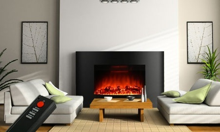 radiateur chemin e d corative lectrique mod le au choix groupon shopping. Black Bedroom Furniture Sets. Home Design Ideas