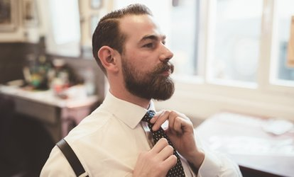 image for Choice of Men's Grooming Package at Dapper Men's Grooming and Aesthetics (Up to 53% Off)