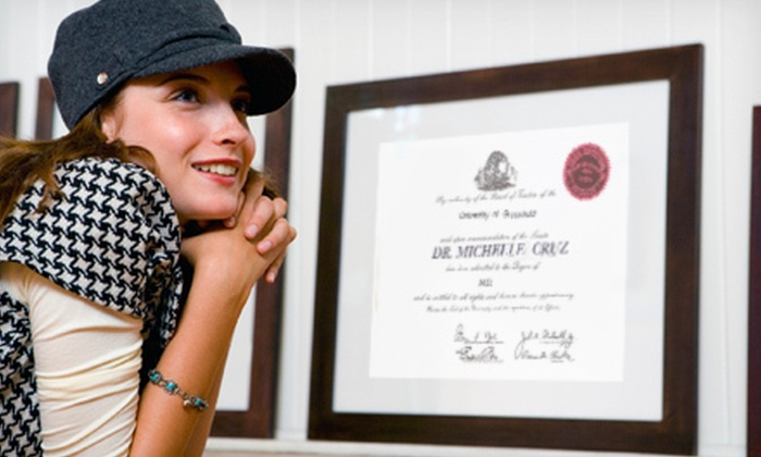 Frame Outlet - Lexington: $29 for $70 Worth of Certificate and Diploma Framing at Frame Outlet