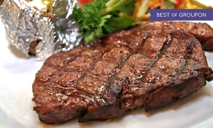 Steakhouse Dinner Cuisine for Two or Four at Tejas Rodeo Company (Up to 42% Off)